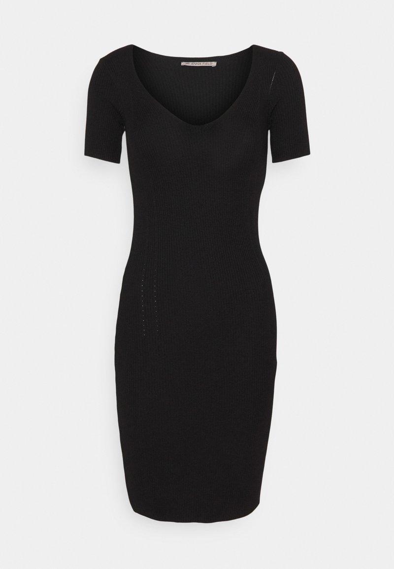 Anna Field - Pletené šaty - black