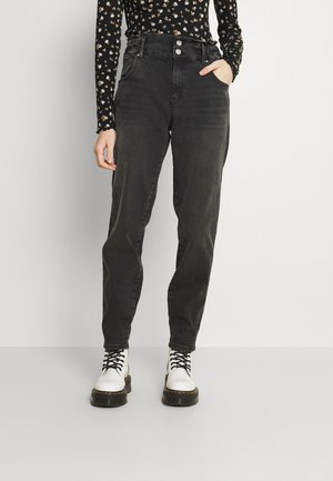 ONLLU CARROT - Jeans Tapered Fit - black denim
