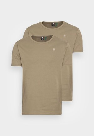 BASE R T S\S 2 PACK - Basic T-shirt - premium 1 by 1 o cavalry
