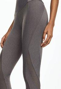 OYSHO_SPORT - Legging - light grey - 5