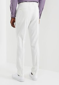 Lindbergh - PLAIN MENS SUIT - Oblek - white - 5