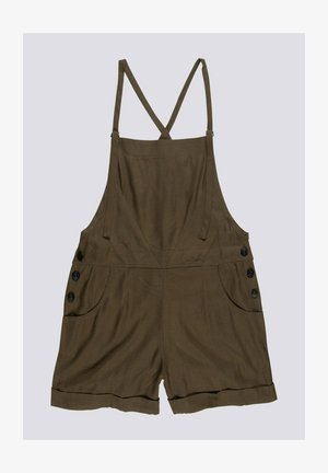 Dungarees - army