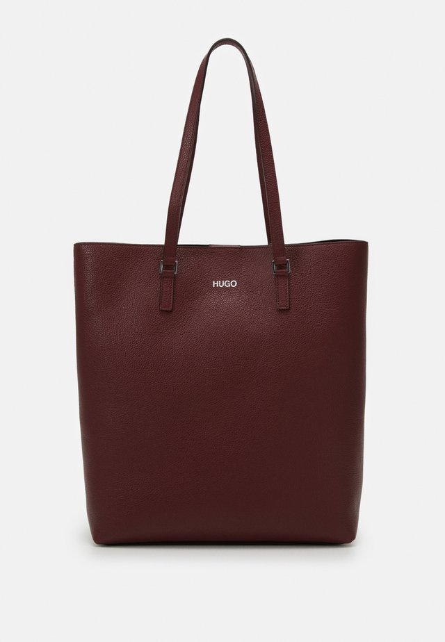 DOWNTOWN - Tote bag - dark red