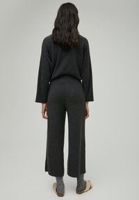 PULL&BEAR - Trousers - dark grey - 2