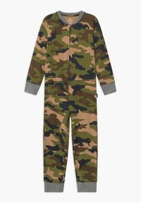 Claesen's - BOYS ONEPIECE - Pyjamas - army - 0