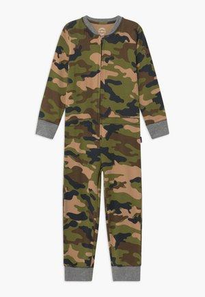 BOYS ONEPIECE - Pyjamas - army