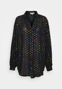 Never Fully Dressed - BLACK RAINBOW SPOT SHIRT - Button-down blouse - multi - 4