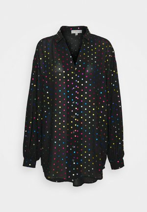 BLACK RAINBOW SPOT SHIRT - Košile - multi