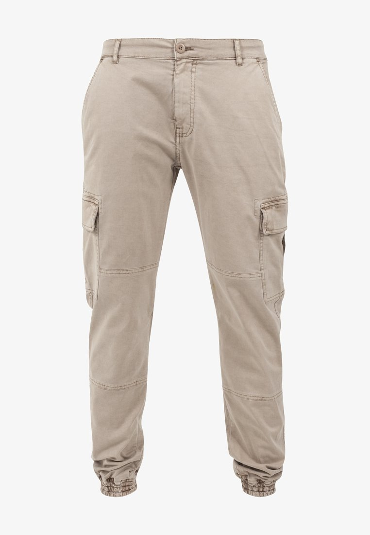 Urban Classics - WASHED CARGO  - Cargo trousers - sand