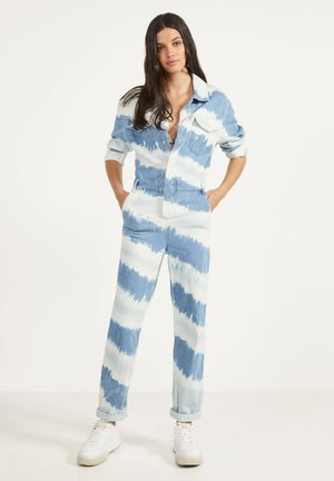 Jumpsuit - blue denim