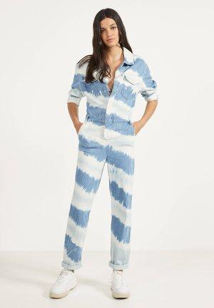 Overall / Jumpsuit /Buksedragter - blue denim
