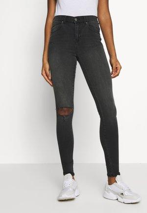 LEXY - Jeans Skinny Fit - off black destroy