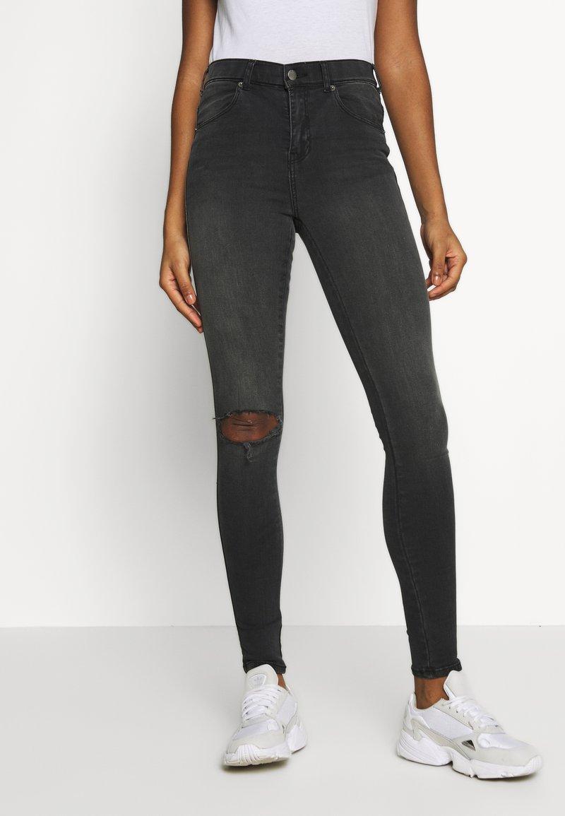 Dr.Denim - LEXY - Jeans Skinny Fit - off black destroy