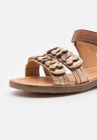 Bisgaard - CANA - Sandals - gold - 5