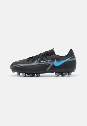 JR PHANTOM GT2 ACADEMY AG UNISEX - Chaussures de foot à crampons - black/iron grey