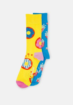 POPCORN JUMBO DONUT SOCK UNISEX SET - Socks - multi-coloured