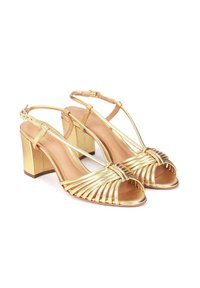 Kazar - NESSIE - Sandales - gold - 1