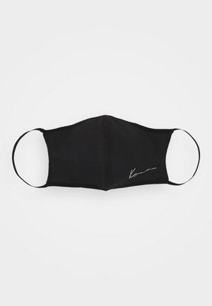 SMALL SIGNATURE FACE MASK 3 PACK UNISEX - Community mask - black