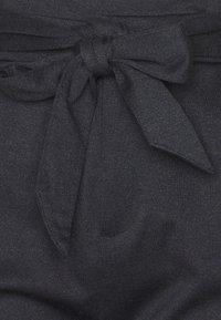 Esprit - PAPERBAG PANTS - Trousers - navy - 2
