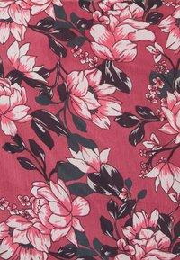 Vila - VIFALIA V-NECK BLOUSE - Camicetta - pink rose flower - 5
