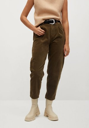 PANNA - Pantalon classique - khaki