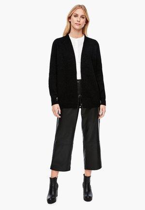 Cardigan - black knit
