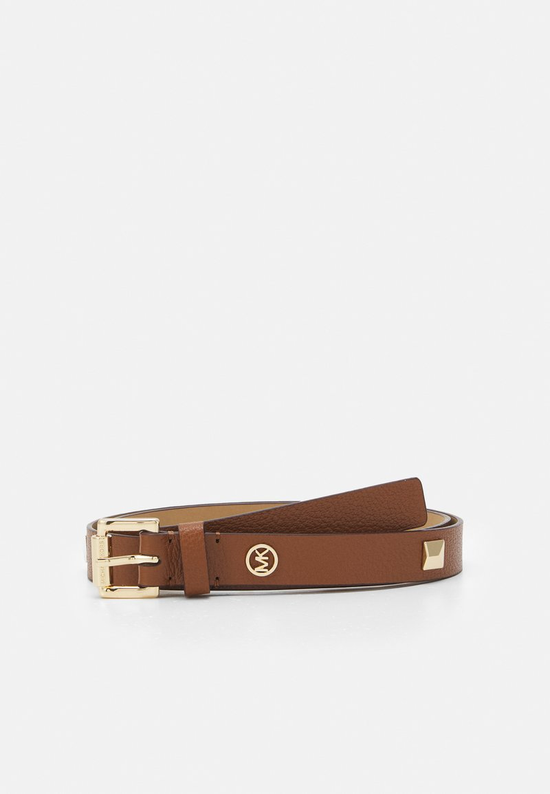MICHAEL Michael Kors - STUDDED BELT - Cinturón - luggage