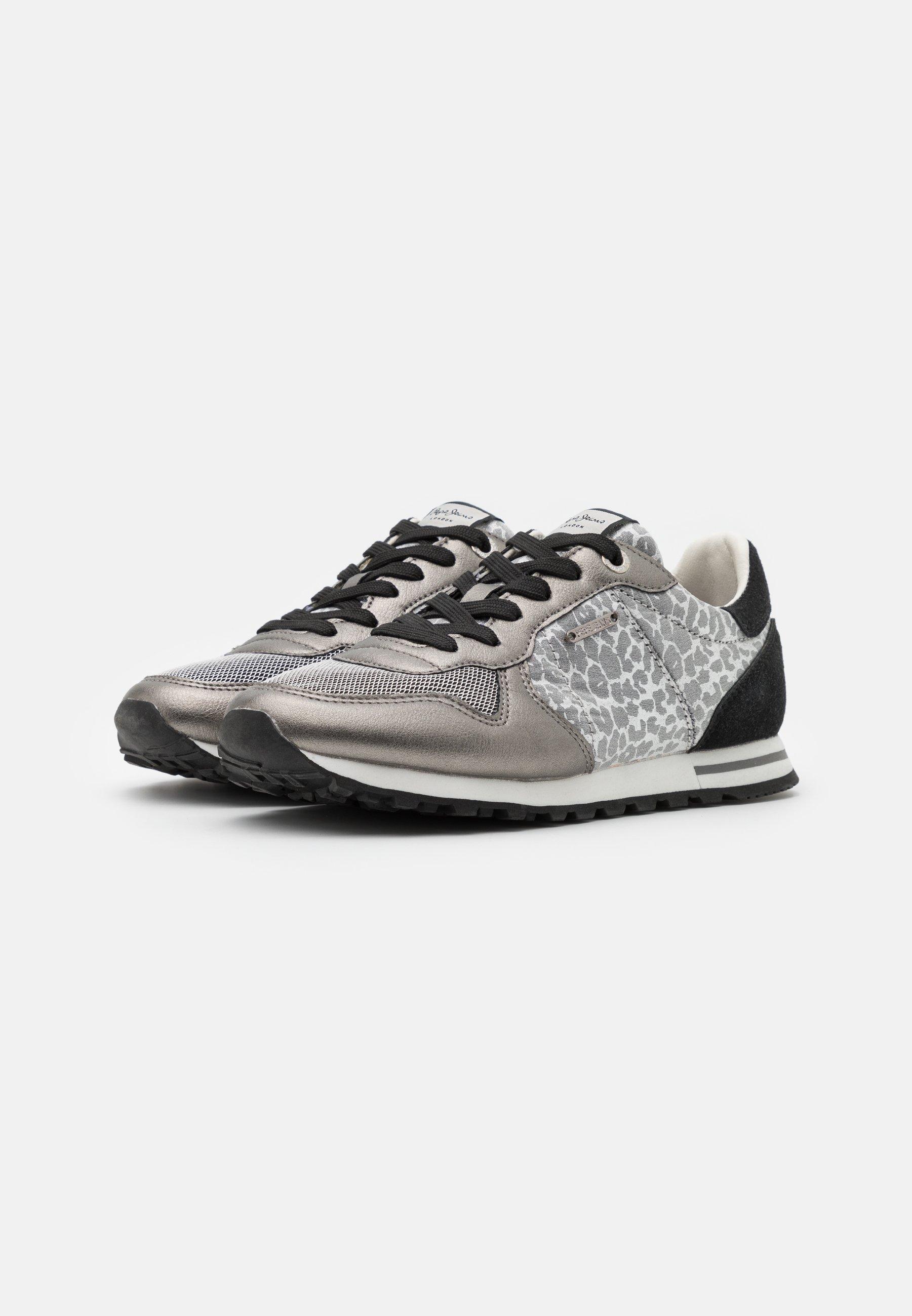 Pepe Jeans VERONA DAY Sneaker low silver/dunkelgrau