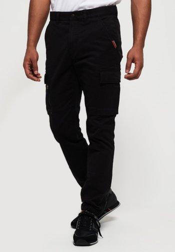 INTERNATIONAL RECRUIT GRIP  - Cargo trousers - black