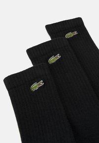 Lacoste - 3 PACK - Socks - black - 1