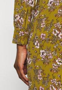 Vero Moda Petite - VMSAGA  - Shirt dress - fir green/stasia - 5