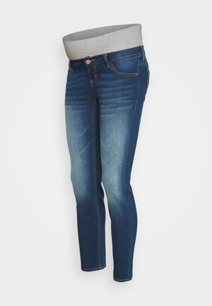 PCMLILA - Jeans slim fit - dark blue denim