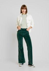 ZIGGY Denim - SKYSCRAPER - Trousers - forest green - 0