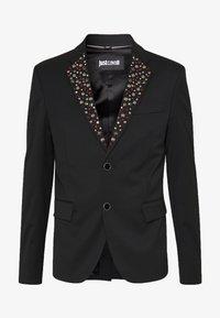 Just Cavalli - EMBELLISHED JACKET - Suit jacket - black - 4