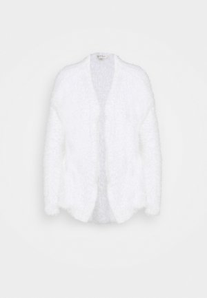 EYELASH EDGE TO EDGE CARDIGAN - Cardigan - cream