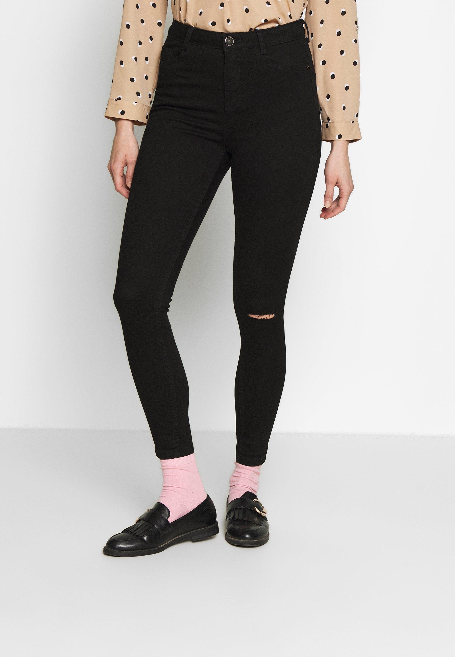 Dorothy Perkins RIP SHAPING - Jeans Skinny - black - Jeans Femme ySt2K