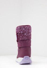 KangaROOS - K-FLUFF RTX - Winter boots - fuchsia/lavender - 4