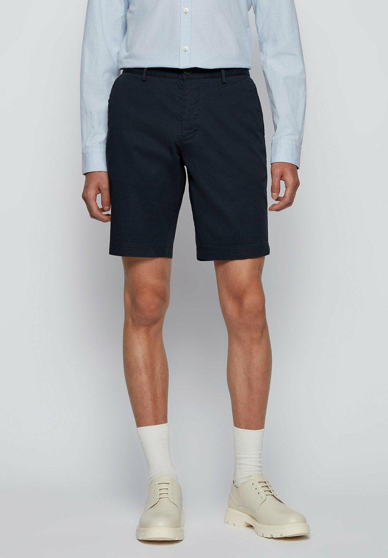 BOSS - SLICE - Shorts - dark blue