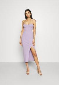 Gina Tricot - PIA DRESS - Pletené šaty - orchid bloom - 0