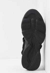 Steve Madden - PLAYERS - Platform sandals - black - 6