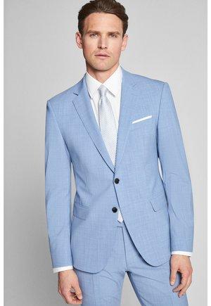 HERBY - Blazer jacket - hellblau meliert