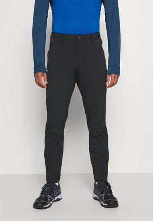PUEZ - Kalhoty - black