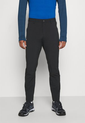 PUEZ - Spodnie materiałowe - black