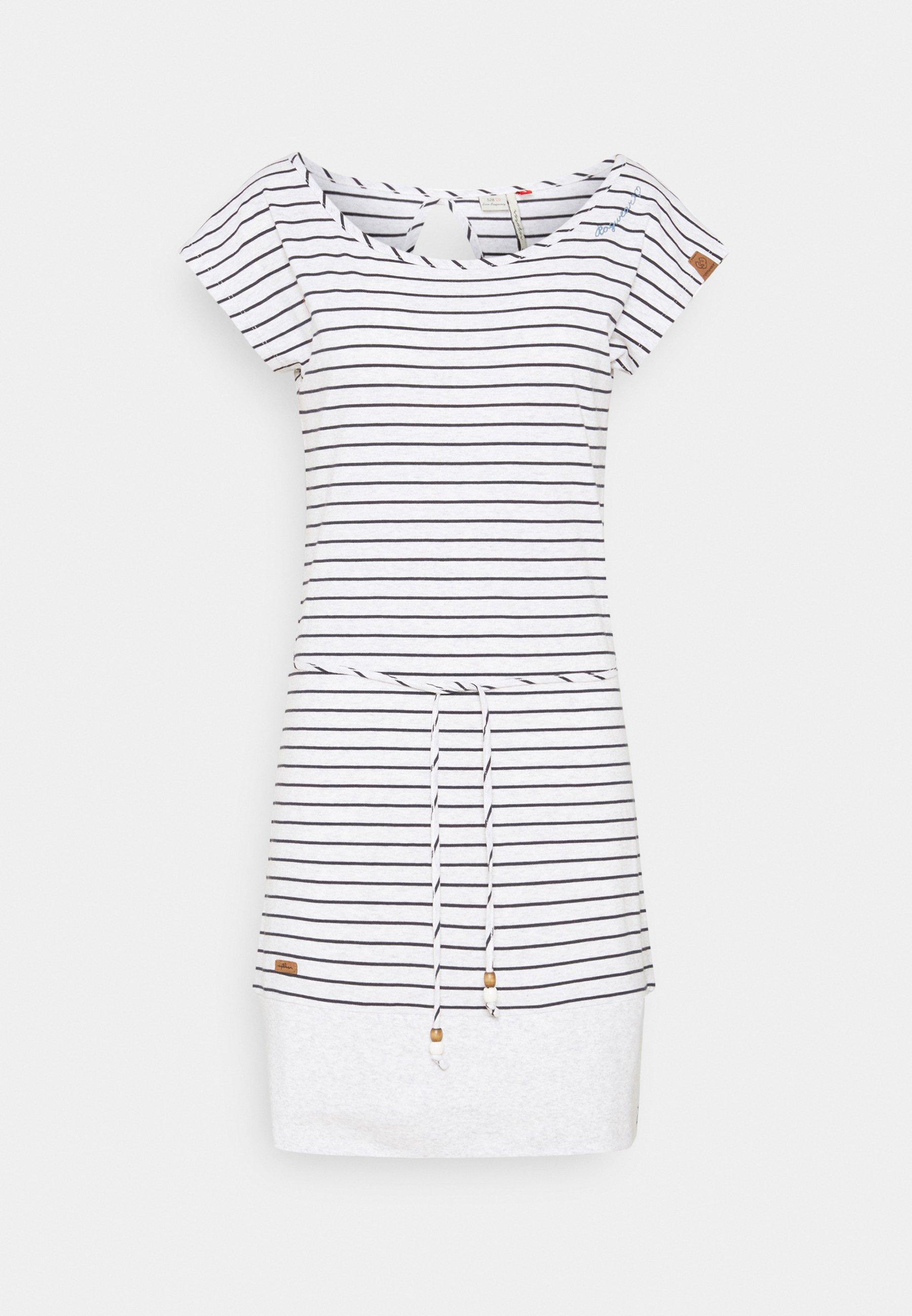 Women SOHO STRIPE - Jersey dress