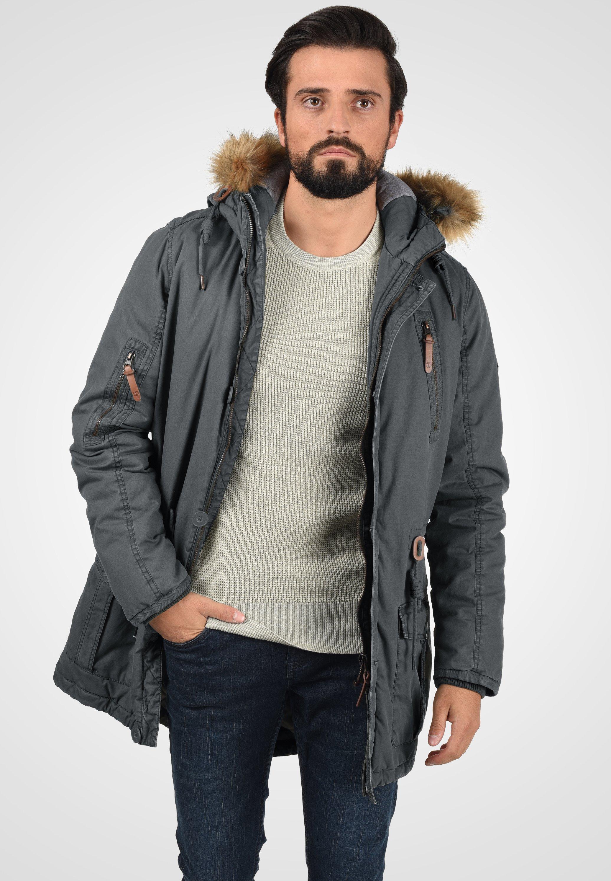 Homme SOLID CLARK - Veste d'hiver
