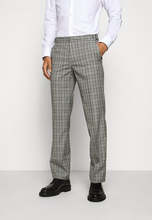 Suit trousers - silver