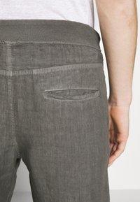 120% Lino - Kalhoty - elephant sof fade - 3