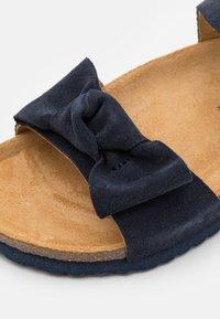 Friboo - LEATHER - Sandalen - dark blue - 5