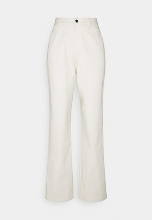 STRAIGHT PANTS - Trousers - offwhite