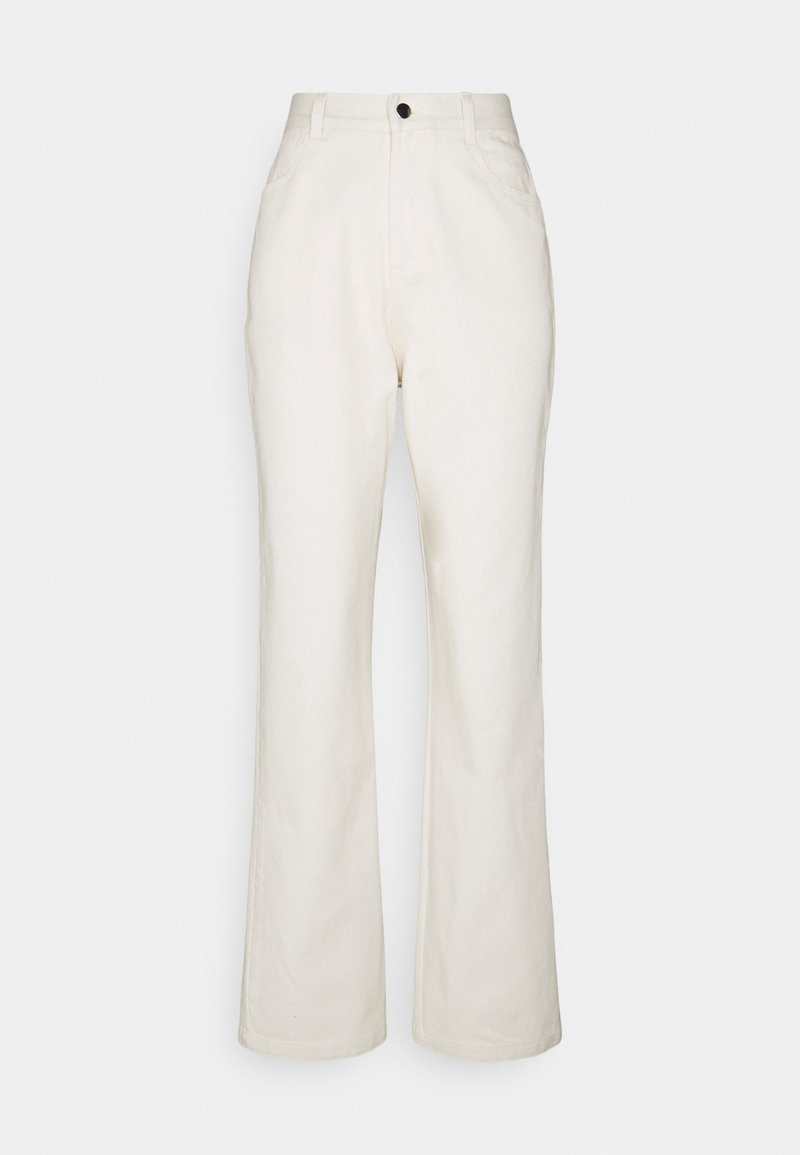 Nly by Nelly - STRAIGHT PANTS - Kalhoty - offwhite